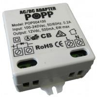 POPP - AC/DC Adapter 230V AC ~ 12V DC